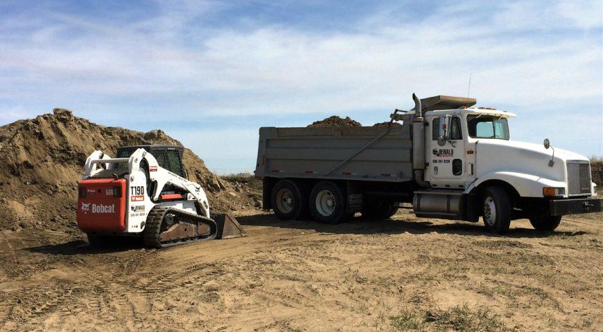 Acreage Driveway Construction 2016 - 1